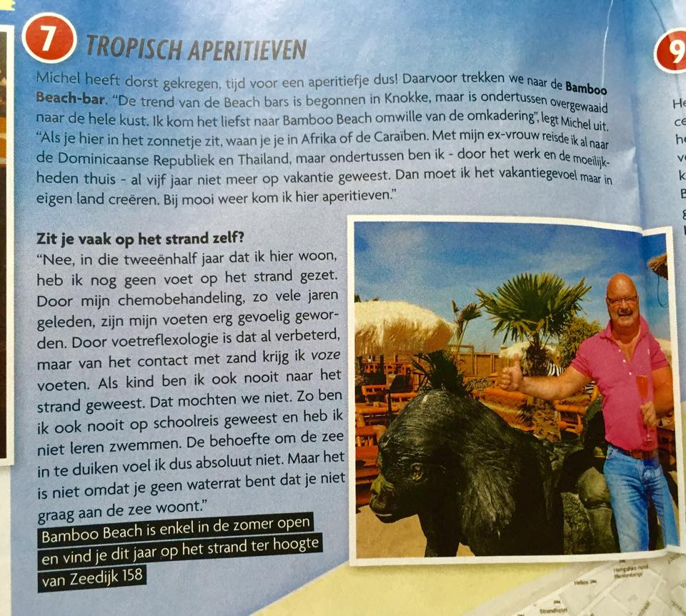 Bamboo Beach Michel Van den Brande