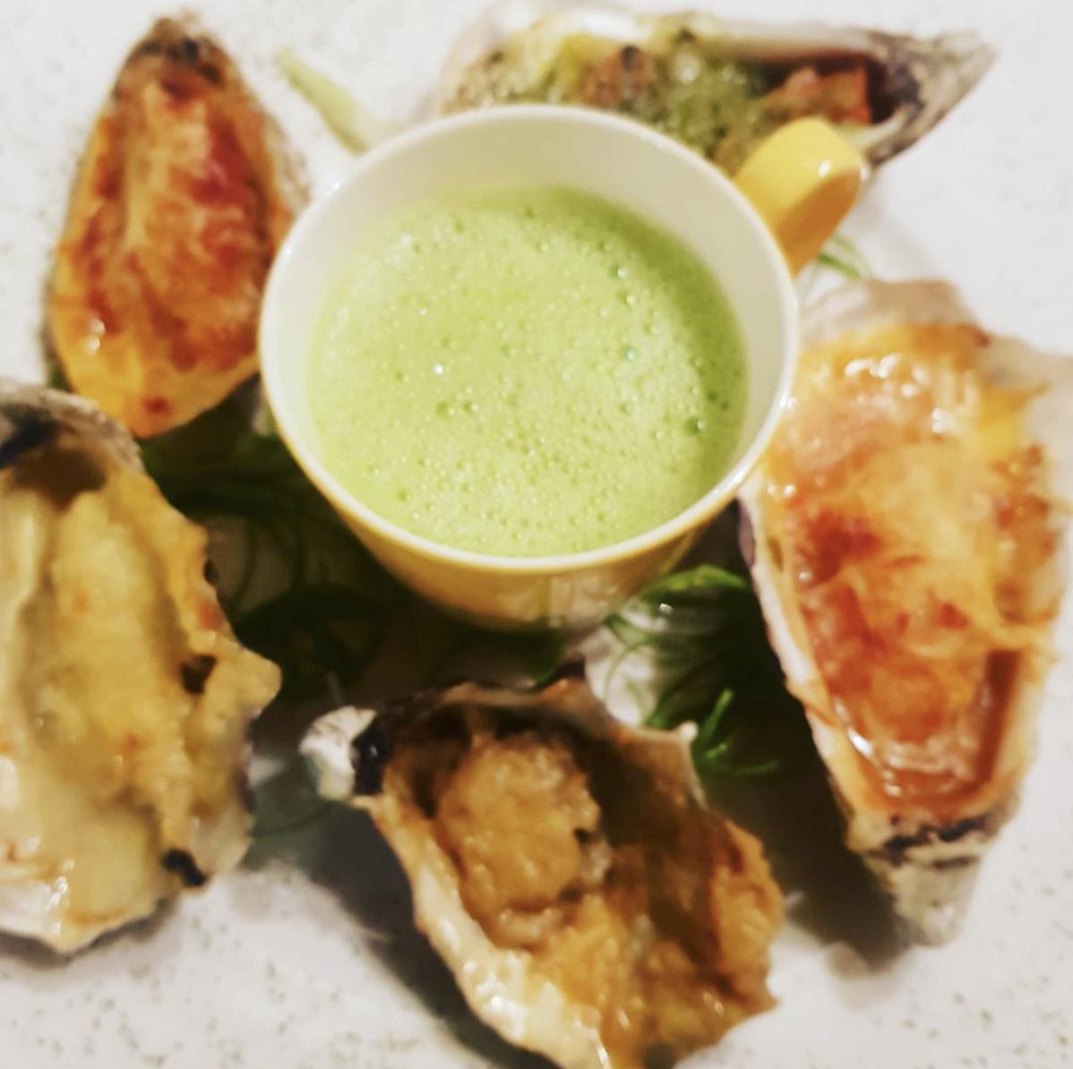 Restaurant Bistro Griffioen - warme oesters