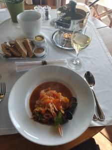 Brasserie Oosterstaketsel vissoep